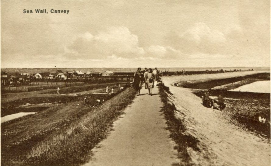 Old Canvey Postcard