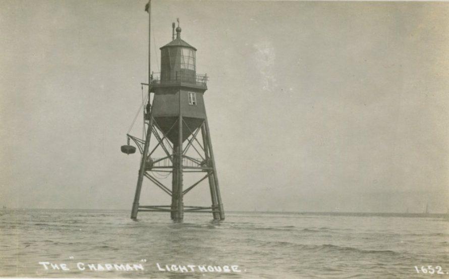 Chapman Lighthouse Postcard
