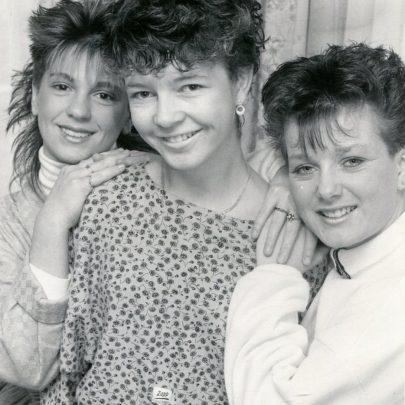 1988 Tracy Gower and Court