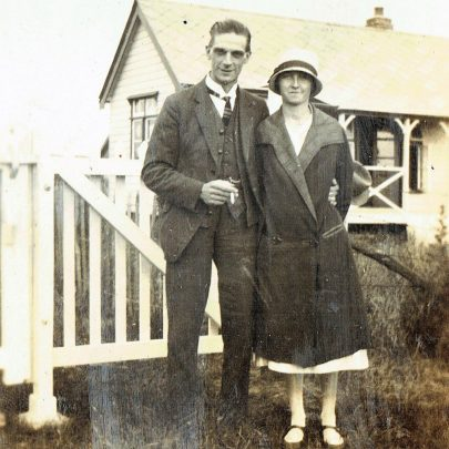 James jnr and his wife Edith | Dr S Cotgreave