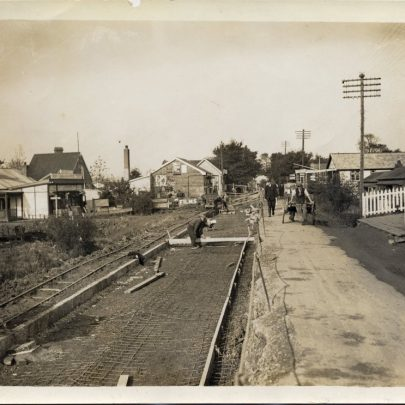 Longer view towards Small Gains Corner | Photopress 1928