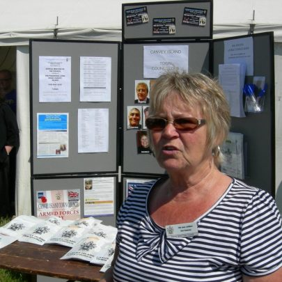 Councillor Joan Liddiard was on hand to answer questions   Janet Penn
