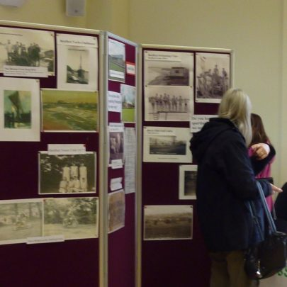 Some of the many photos that made up the exhibition | Janet Penn