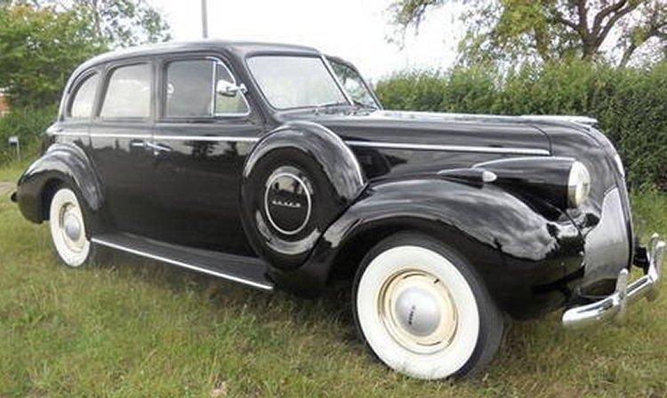 A 1939 McLauglin Buick