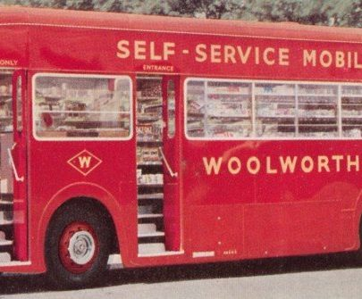 A mobile Woolworths