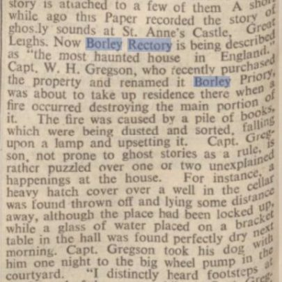 Chelmsford Chronicle March 1939