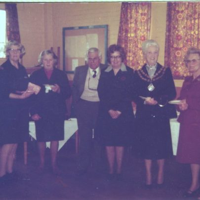 Luncheon club at the Baptist Church Hall April 1980 | WRVS