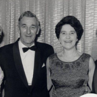 Sid and Olive Elms (Sid was Michel's right-hand man) Gladys Matthew who ran the pram shop | Miriam Litman