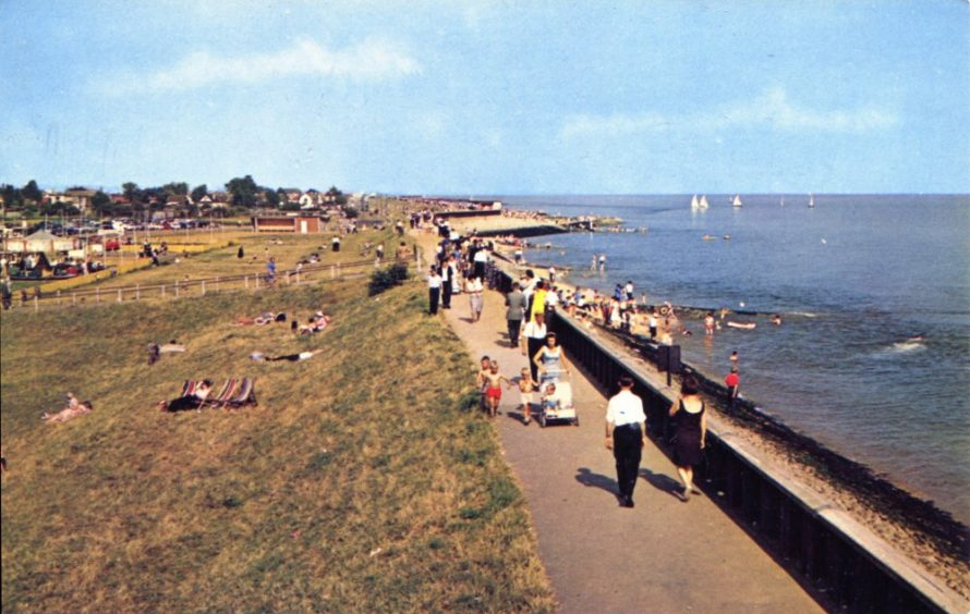 Canvey Seafront Postcard