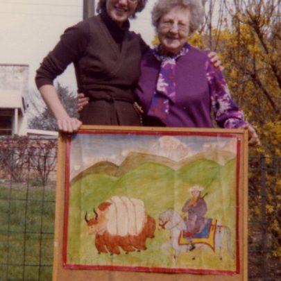 Margaret Kingsley and Kay Stevens   Stevens