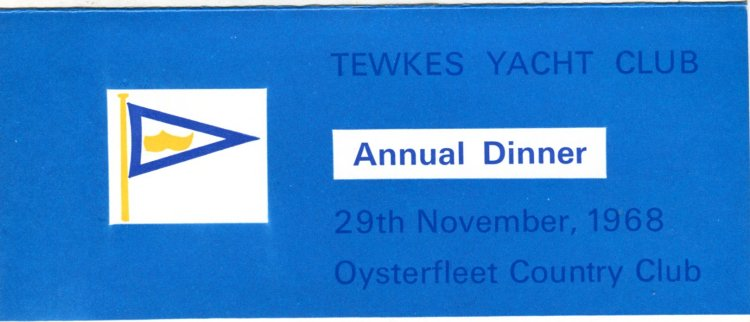 Annual Dinner at the Oysterfleet Country Club