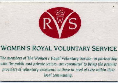 My years as a WRVS Volunteer