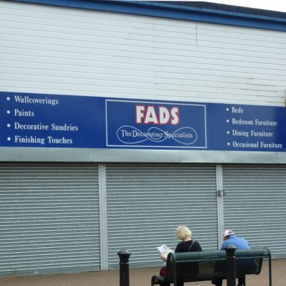 Tower Radio Furtherwick Road site as it is today 2010. The last occupants were Fads. | Janet Penn