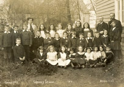 Old Photo Village School