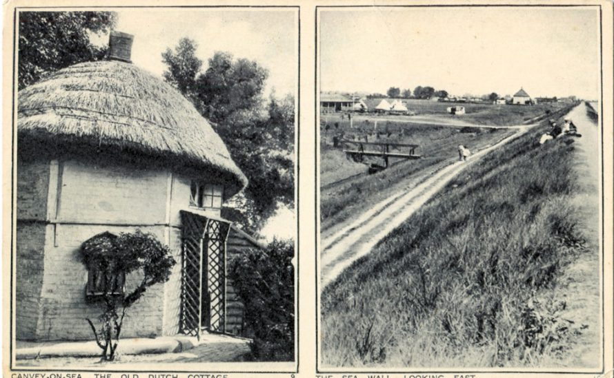 Dutch Cottage and Seawall