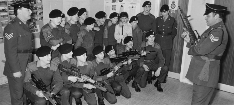 Canvey Army Cadets | Echo newspaper group and the Rayleigh Town Museum