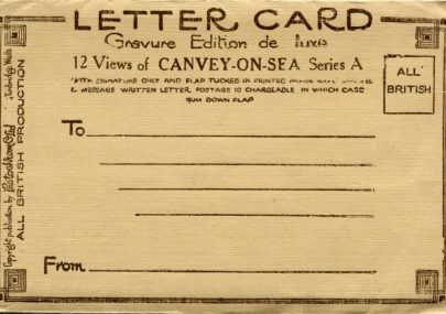 Photochrom Co Ltd Letter Card