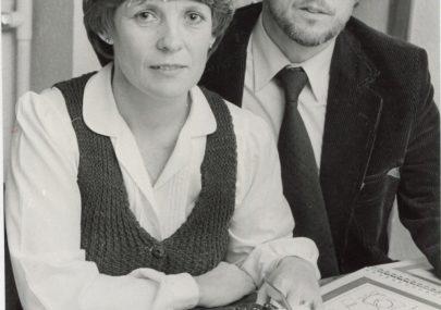 Olivia and Alan Whitcomb