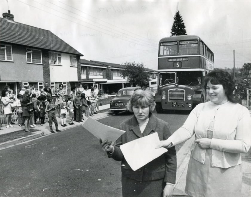 Bus Route?? | Echo Newspaper Archive