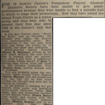 Local Newspaper clipping | Dudley George