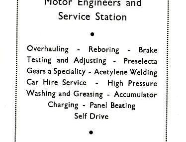Garages - Service Stations