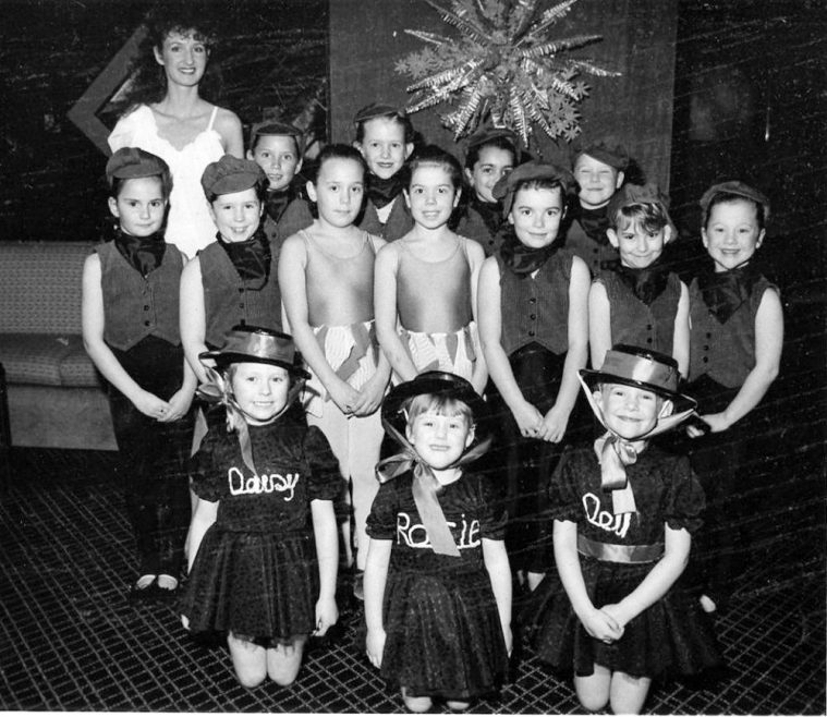 Dance Show Girls at Kings Club | Echo Newspaper Archive