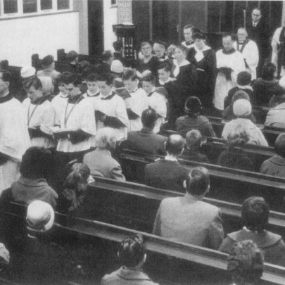 Inside St Nicholas in the early years with Rev. John Fleetwood