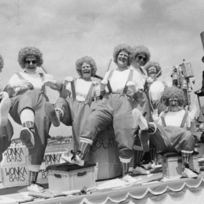 1986 29 Club 'Willie Wonka' float