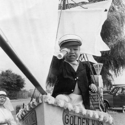 1986 Ian Jones on the Golden Hind