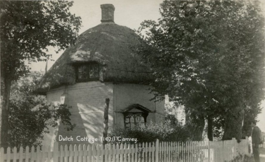 Dutch Cottage (1621) Postcard