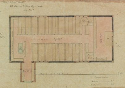 Plan of Canvey Island Chapel