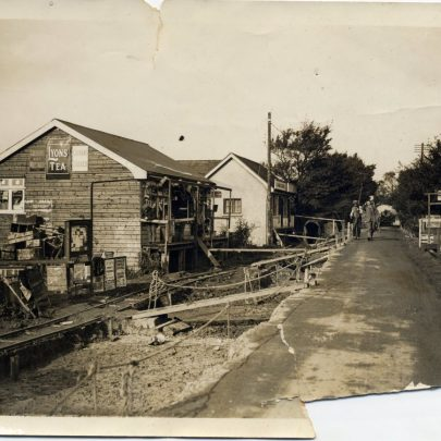 The junction with Arcadia Rd | Photopress 1928