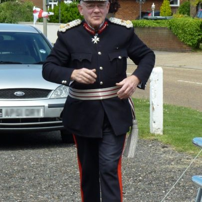 Lord Lieutenant of Essex, Lord Petre arriving | Janet Penn