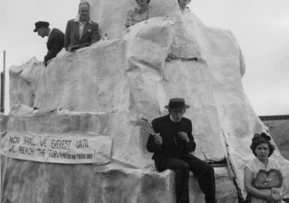 'Mount Everest' Carnival entry c1954