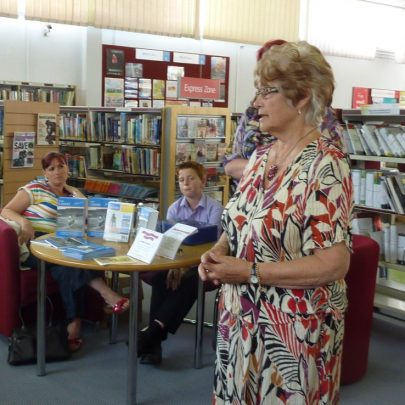 Pat Smith talks about the book she is writing about people's memories of the 1953 Flood that she is putting into a book | Janet Penn