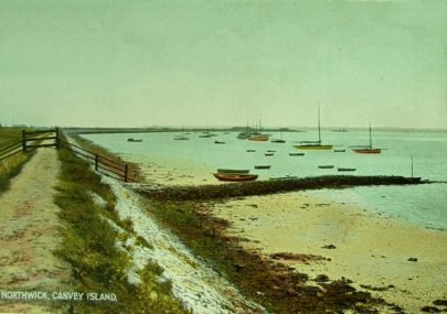 Postcard - Northwick Canvey Island