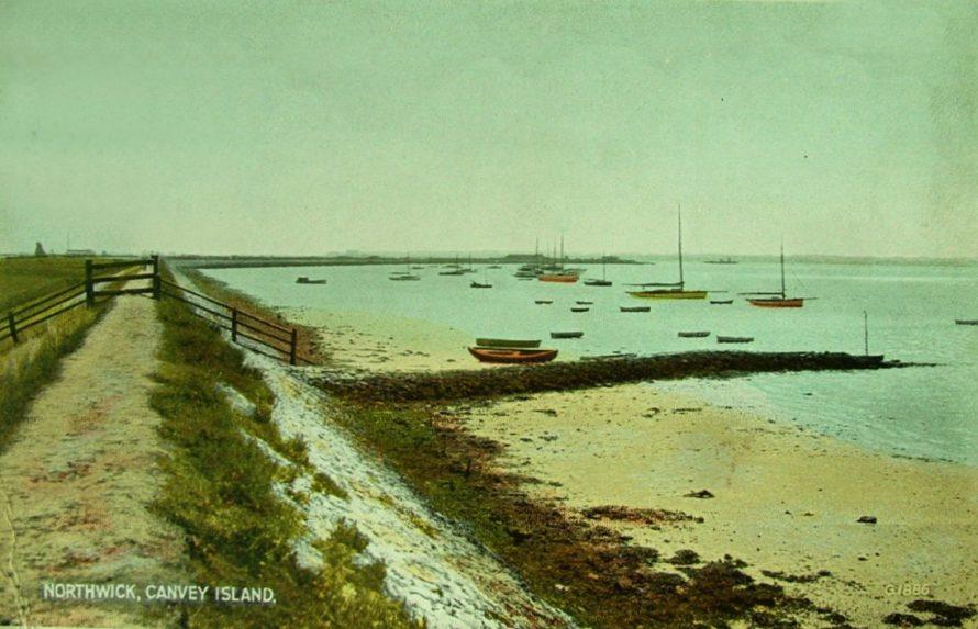 Postcard - Northwick Canvey Island