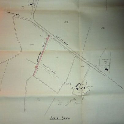 Plan of the Estate where the work was to be done