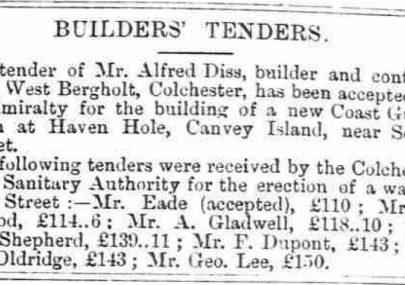 Builder's Tenders