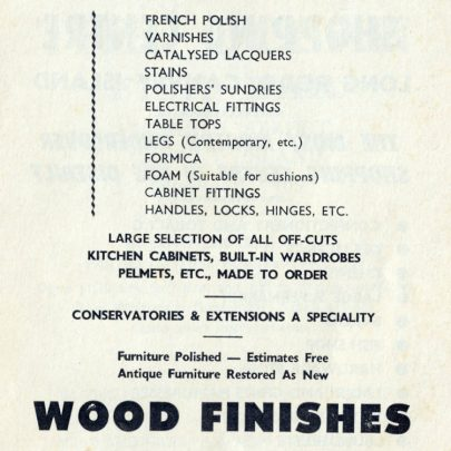 Adverts from Captivating Canvey 1969