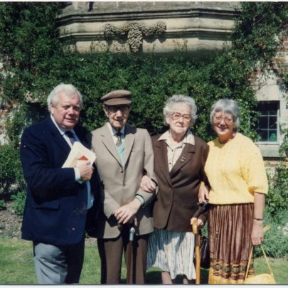 June 1989 Glyndebourne - Brighton Festival Concert. Mr & Mrs Kingsley and their daughter Margaret with David who had an advertising company   Stevens
