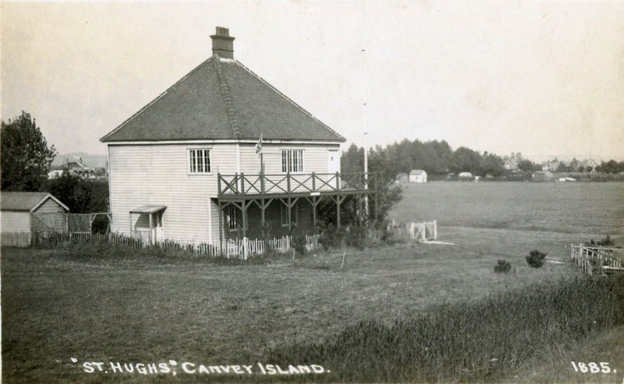 St Hughs aka Riverside Cafe c1920