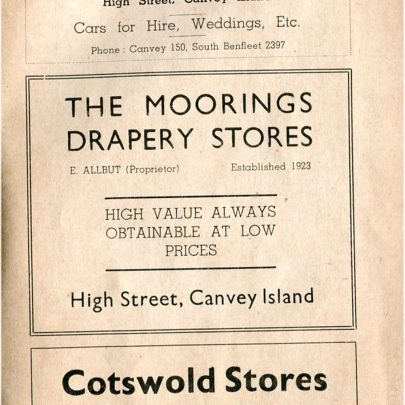 Adverts from 1949