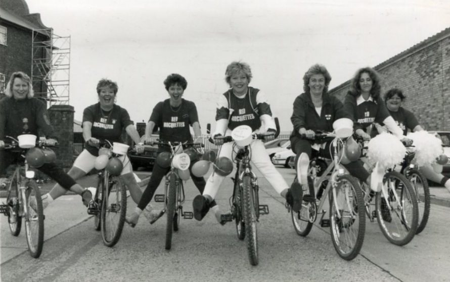 Sponsored Bike Ride | Echo Newspaper Archive