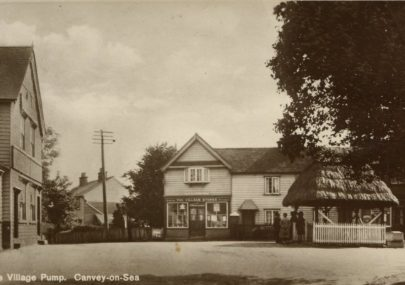 Canvey Village Postcard
