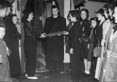 1945-53: Rev Arthur Mortimer