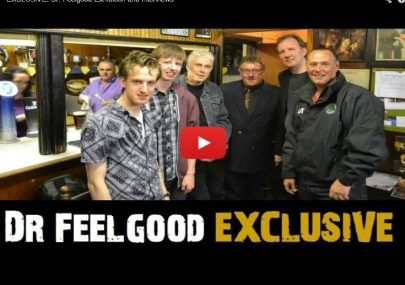 Dr. Feelgood Exhibition and Interviews