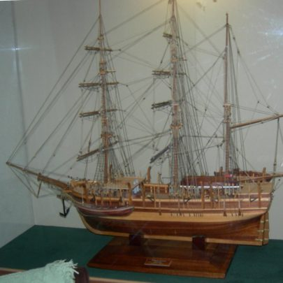 Model ship built by Denys Cook | Janet Penn