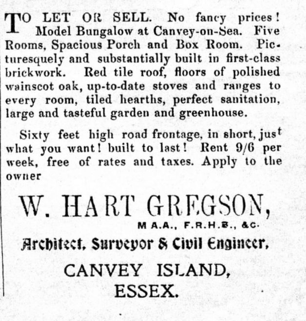 Captain Gregson's Advert