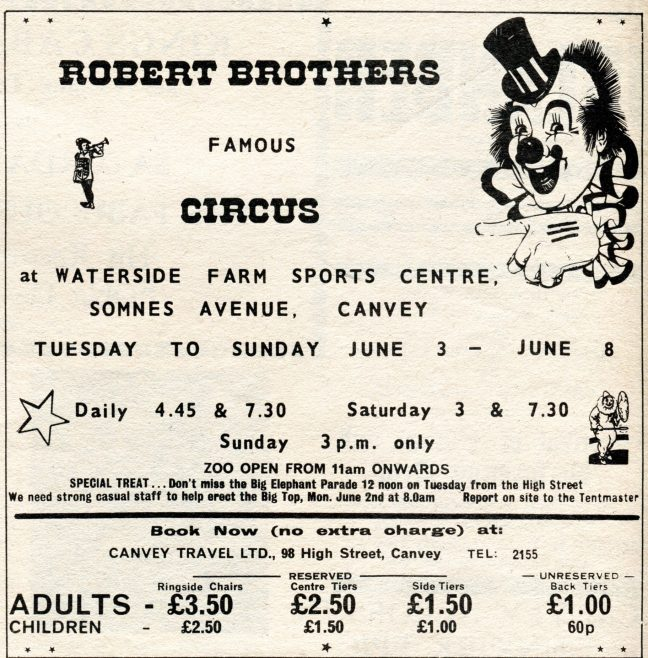 Circus Comes To Canvey